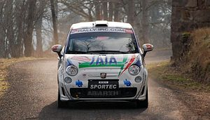 Group R - Abarth 500 Rally R3T.