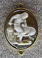 082 artista rinascimentale, ercole e cerbero, calcedonio, 1510 ca..JPG