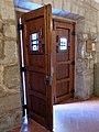 087 Capella de Sant Isidori (Mollerussa), porta.JPG