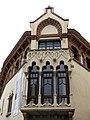 088 Casa Domènech i Montaner (Canet de Mar), tribuna.JPG