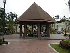 Gazebo and picnic grounds