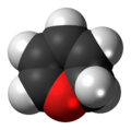 1,2-Pyran 3D spacefill.png