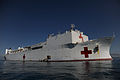 100121-F-3715H-050 The Military Sealift Command hospital ship USNS Comfort (T-AH 20) is anchored off the coast of Haiti supporting Operation Unified Response.jpg
