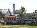 108 Sant Boi de Lluçanès des del c. Joaquim del Vilar, amb el campanar de l'església al fons.jpg