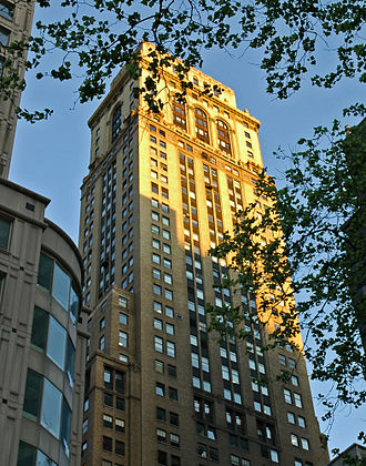 New York skyscrapers (O'Keeffe) - Image: 10 E 40th Street NYC