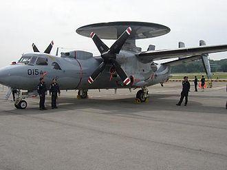 111 Squadron, Republic of Singapore Air Force - Image: 111Sqn E 2C Hawkeye