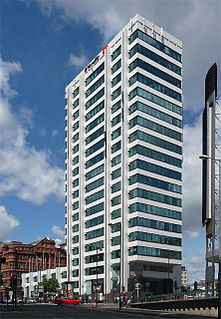 111 Piccadilly high rise office development in Manchester, England