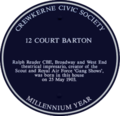12 Court Barton - Blue Plaque.png