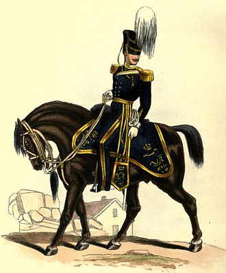 13th Hussars - Uniform of the 13th Light Dragoons