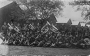 142nd Field Artillery Regimental Band in Europe, 1918