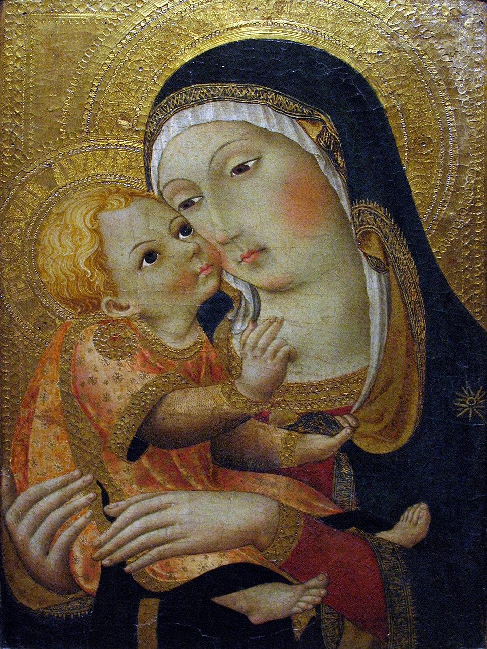 1460 Osservanza Master Madonna and Child anagoria