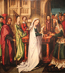 Lichtmess Jesus im Tempel