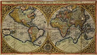 Petrus Plancius - Image: 1590 Orbis Terrarum Plancius