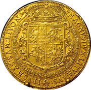 A coin of 15 ducats of Grand Duke Sigismund III Vasa from 1617