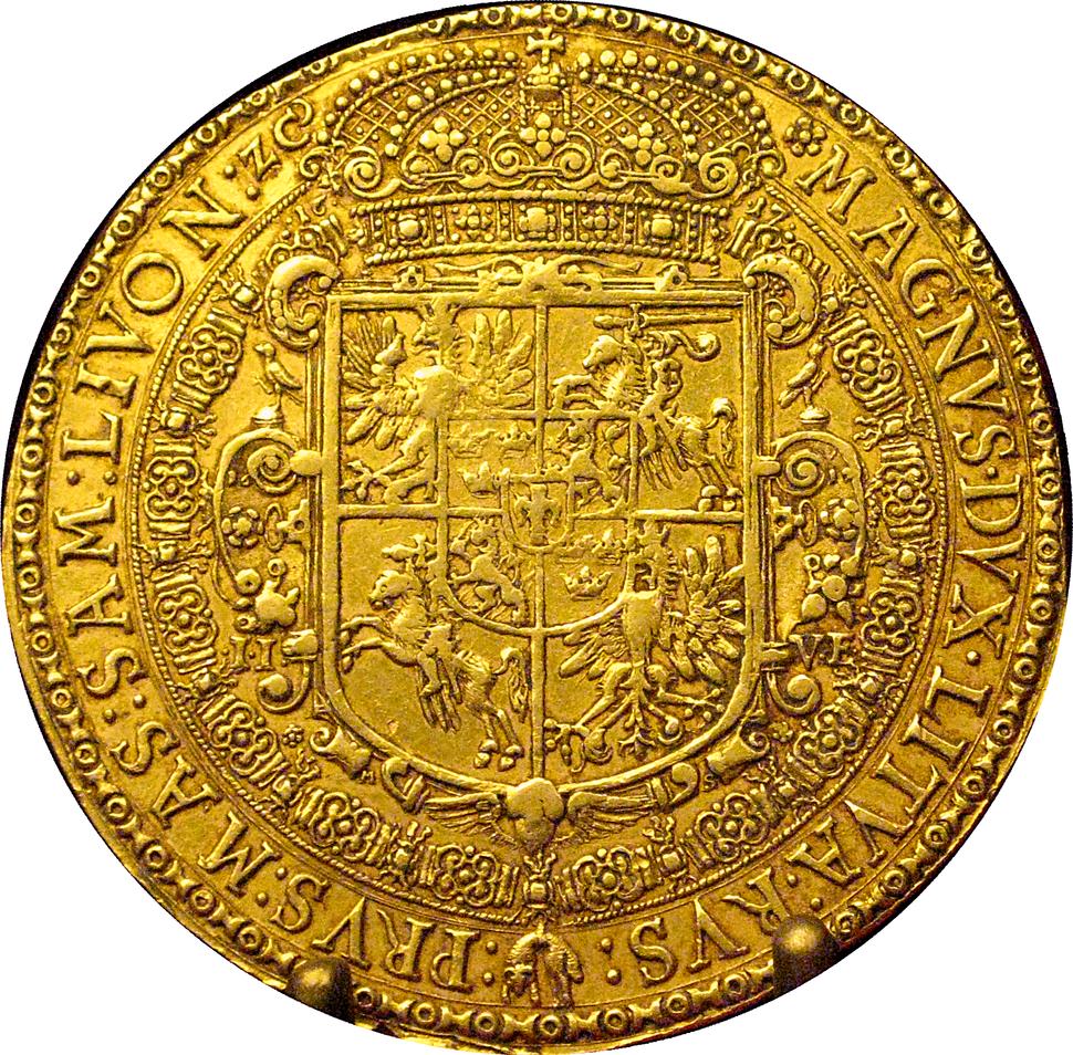 15 ducats of Sigismund III Vasa from 1617