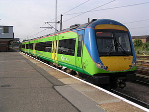 Diesel multiple unit - The popular Class 170 was the best selling DMU of the last 10 years in the UK.