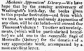 1820 MechanicApprenticesLibrary JohnAdams ColumbianCentinel Feb12.png