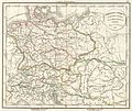 1832 Delamarche Map of Germany in Roman Times - Geographicus - Germany-d-32.jpg