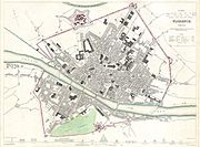 1835 S.D.U.K. City Map or Plan of Florence or Firenze, Italy - Geographicus - Florence-SDUK-1835
