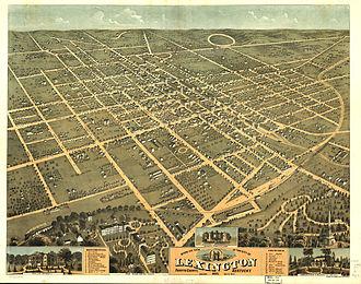 Timeline of Lexington, Kentucky - Lexington, Kentucky, 1871
