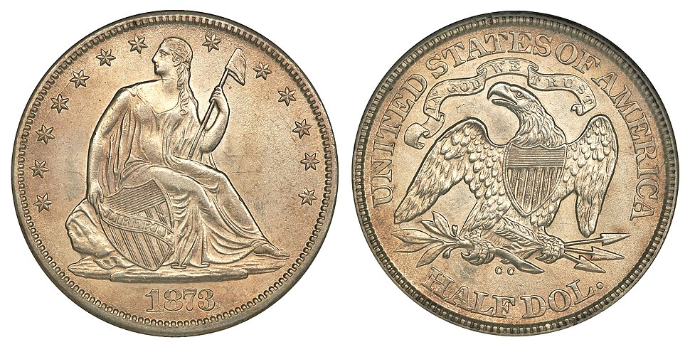 1873-CC 50C No Arrows