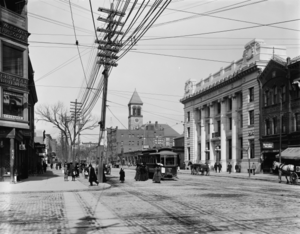 Central Square, Cambridge - Central Square, Cambridge, M.A., c. 1911.