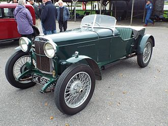 New Avon (coachbuilder) - 1931 Standard Big Nine Special 2-seater Sports