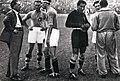 1934 FIFA World Cup Final - Italy v Czechoslovakia - Pozzo, Monzeglio, Bertolini, Combi, Monti and Carcano.jpg