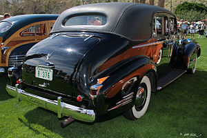 Sedan (automobile) - 1938 Cadillac Club Sedan