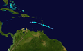 1949 Atlantic tropical storm 3 track.png