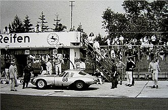 Pit stop - Pit stop in 1964 at Nürburgring