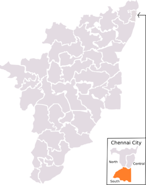Chennai South (Lok Sabha constituency) - Chennai North constituency as laid out by 1971 Delimitation. The boundaries for this constituency lasted until 2004 election, which was then replaced by 2008 Delimitation.