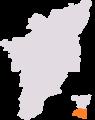 1971 delimitation chennai south lok sabha constituency.png