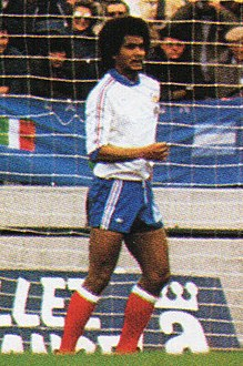 1978 FIFA World Cup - Italy v France - Gérard Janvion.jpg