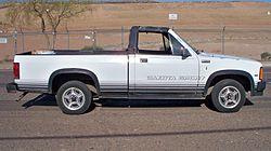 Px Dodge Dakota Right Side View on 1989 Dodge Dakota Sport 4x4 Convertible