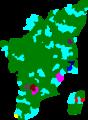 1991 tamil nadu legislative election map by parties.png