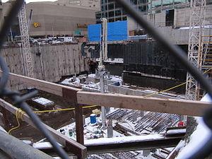 One Bloor - Image: 1Bloor East Toronto JAN2013 Foundations