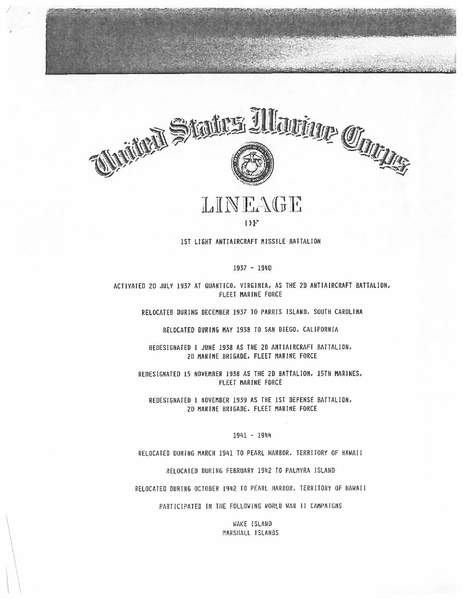 File:1st LAAM Battalion Lineage and Honors - 1990.pdf