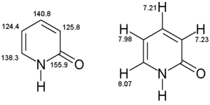 2-Pyridone (data page) - NMR data of 2-Pyridone