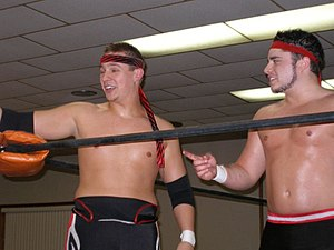 3.0 (professional wrestling) - Jagged and Shane Matthews in February 2007