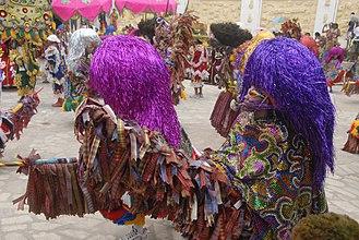 Maracatu - Maracatu Rural performers.