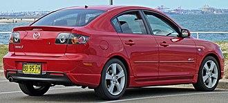 Mazda3 - Sedan (pre-facelift)