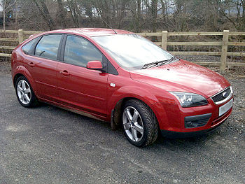 English: 2007 Ford Focus 1.6 Ti-VCT Zetec in T...