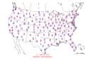 2006-02-24 Max-min Temperature Map NOAA.png