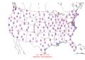 2006-03-21 Max-min Temperature Map NOAA.png