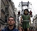 2006-05-06 - London - The Sultans Elephant - The Little Girl - Not Impre (4888867756).jpg