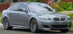 BMW 5 Series (E60) - Front