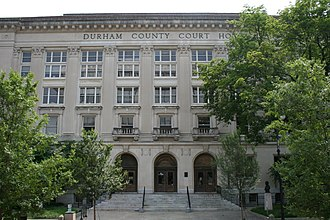 Durham County, North Carolina - Image: 2008 07 05 Durham County Courthouse