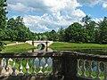 2009-06-26 Гатчина. Вид на Карпин мост с террасы Собственного сада (1).jpg