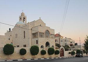 Taybeh - Taybeh church, 2010